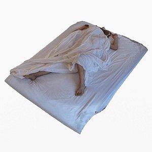Woman In Bed model