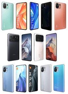 3D Xiaomi Mi 11 Collection