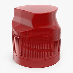 plastic cap 3D model