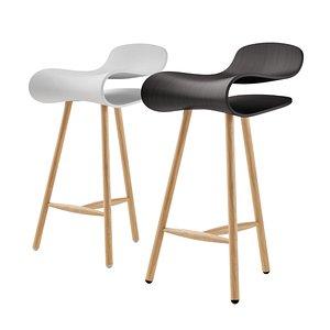 3D bcn wood stool
