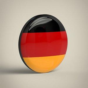 3D model Germany Badge