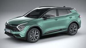 Kia Sportage GT-line 2022 3D