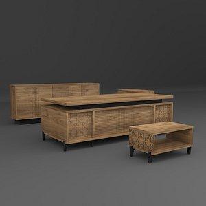 PETRA Executive Table 3D
