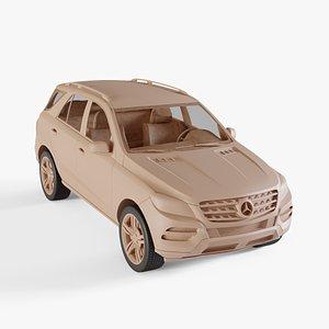 2011 Mercedes-Benz M-class 3D model