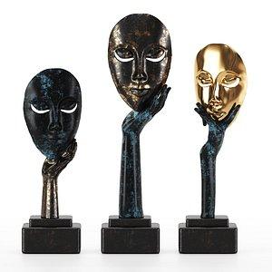 figurines art decor 3D model