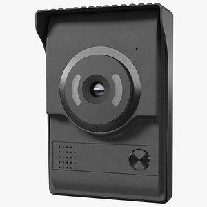 3D model Amocam Video Intercom Camera