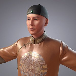 3D china qing dynasty