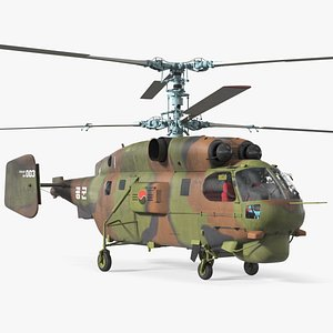 3D Kamov HH32A South Korea Air Force Helicopter