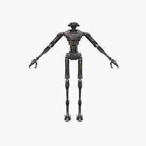 droid robot disney 3D model