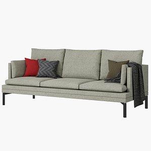 3D Zanotta Williams couch