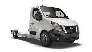 3D model Nissan NV400 FWD LL35 L3H1 Platform Cab 2021