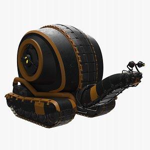Snail Robot 3D model