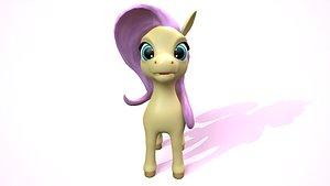 3D pony cartoon