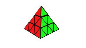 3D pyraminx twisty teaser model