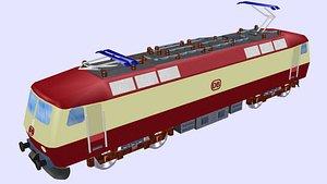 class 120 electric locomotive model