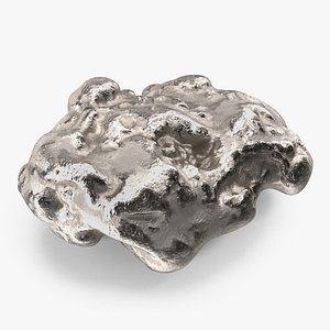 Silver Mineral model