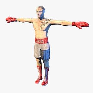 boxer mma matrial model