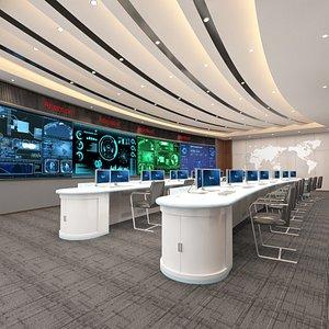 Full Data Monitoring Center 3D