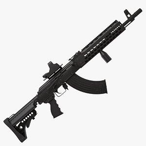 ak rifle 3D