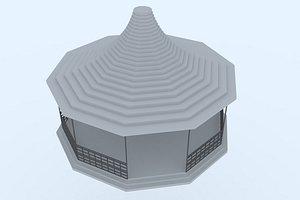 3D model gazebo 26