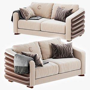Carpanelli Contemporary DI30 DESYO 2 seater sofa 3D