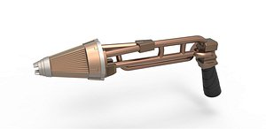 Kazon Phaser rifle 3D model