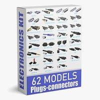62 Electronics Kitbash Plug Connector