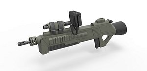 Rifle M-590 3D model