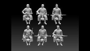German soldiers ww2 3D