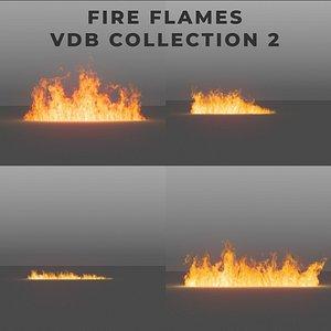 3D model Fire Flames PACK 2 - VDB