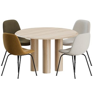 3D Dinning Set by Fredericia