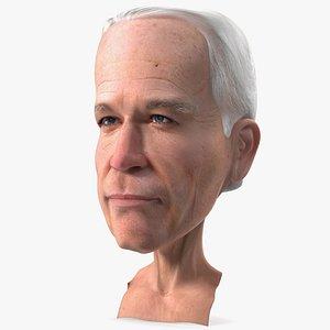 3D Cartoon Joe Biden Head model