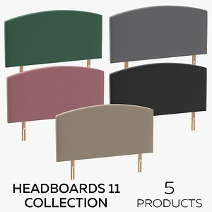 Headboards 11 Collection 3D model