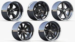 wheel american 3D model