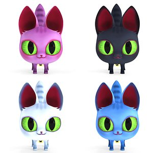 3D Cartoon Cat