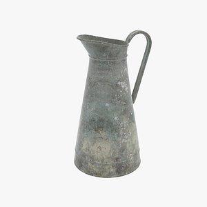 vintage metal jug model