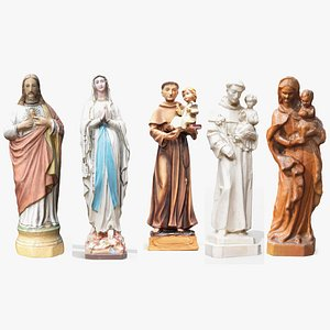 3D statues holy