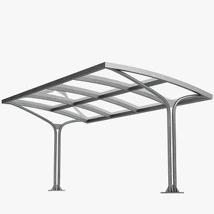 3D Outdoor shelter 1