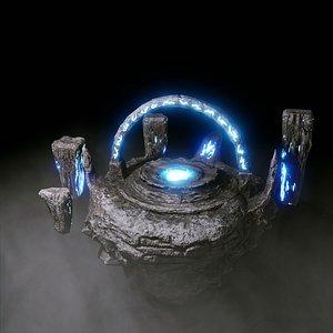 3D model portal games