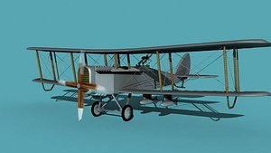 3D Airco DH-4B Bomber V00