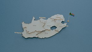 south provinces state 3D model