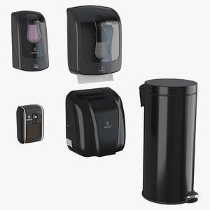 3D Binele equipment kit for hands - black