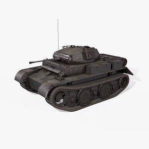 3D ii war 2 tank