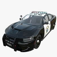 Dodge Charger California highway patrol