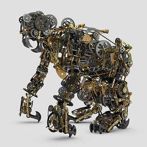 Mechanical Monkey 3D