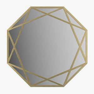 Mirror Makita La Redoute 3D model