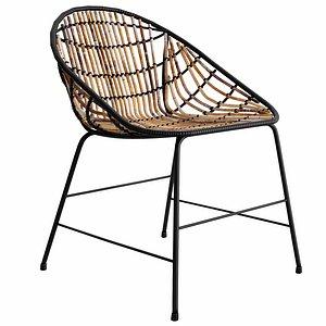 3D LUNA Lounge Chair model