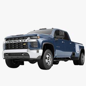 Chevrolet Silverado 3500 HD 2021 03 3D model