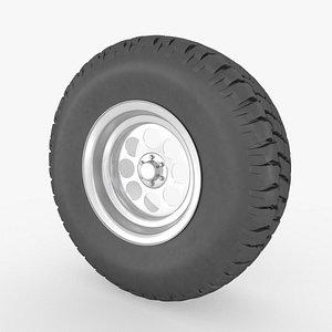 3D off-road wheel