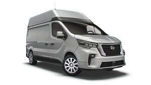 3D Nissan NV300 Van L2H2 2022